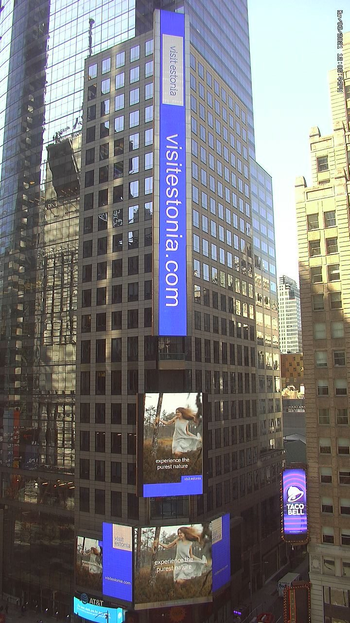 View of Time Square